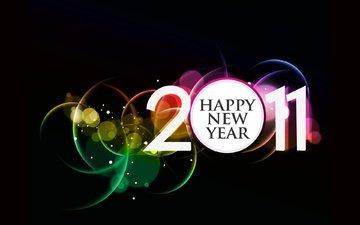 новый год, праздник, веселье, 2011 год