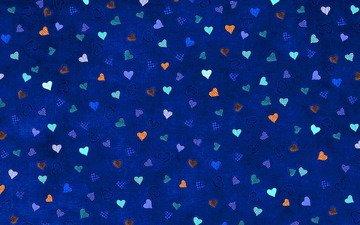 фон, сердце, любовь, день влюбленных, 14 февраля