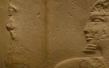 песок, египет, фреска
