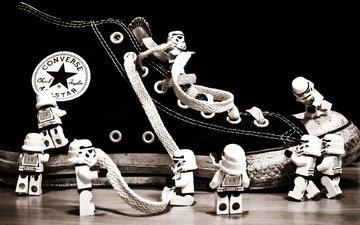 фигурки, кед, шнурки
