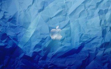 яблоко, бренд, значёк, эппл