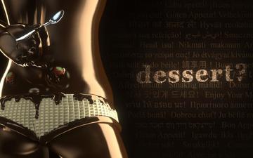 стиль, надпись, клубника, трусики, шоколад, тело, десерт, вафля