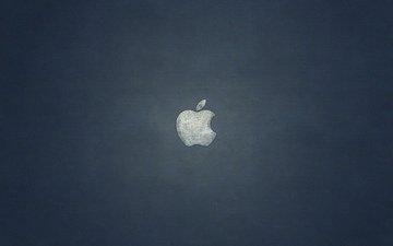 логотип, яблоко, эппл