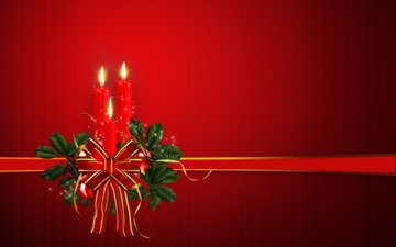 свечи, радость, игрушки, праздник, рождество, christmas joy