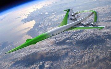 космос, корабль, орбита, прототип