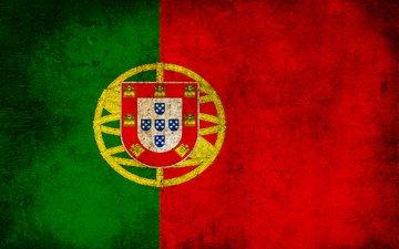 полосы, грязь, цвета, флаг, португалия