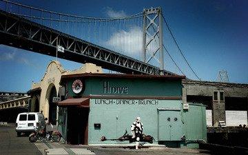 мост, звездные войны, сан-франциско, закусочная, разведчик