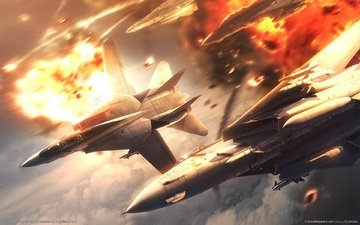 aircraft, games, ace combat 5