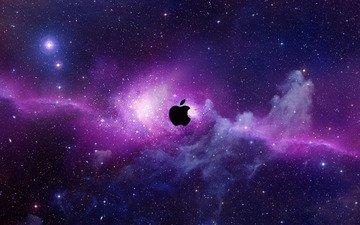 мак, компьютер, космическая, эппл