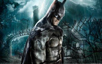 picture, house, batman arkham asylum