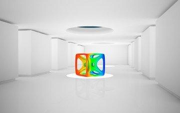 цвет, комната, структура