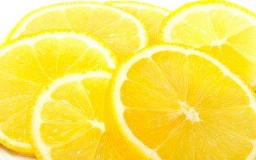 желтый, фрукты, фотографии, цитрус, плоды, макро обои, лимоны
