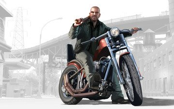 the game, motorcycle, gta