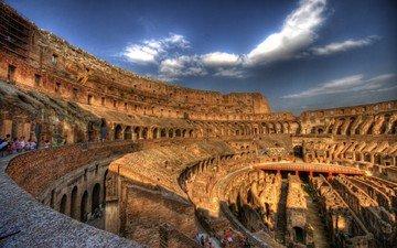 италия, питер, колизей, рим, храмы