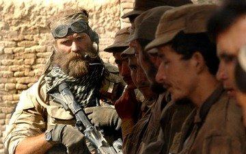 взгляд, мужик, борода, медаль за отвагу