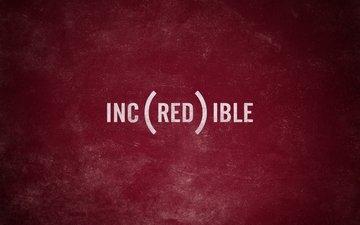 надпись, красный, потертость