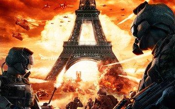 war, fire, paris, the explosion, end war