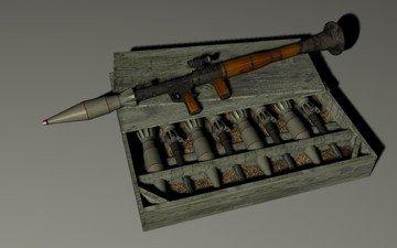 weapons, rpg, grenade launcher