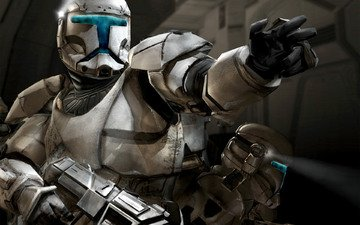 light, weapons, star wars, the soldiers of the republic