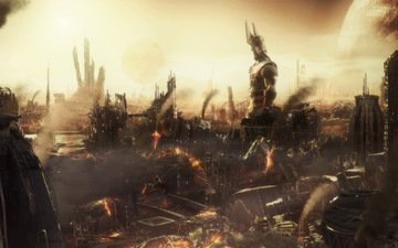 статуя, разрушения, апокалипсис