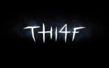 the inscription, thi4f, thief 4