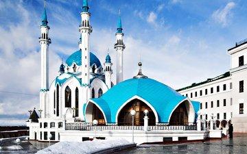 площадь, мечеть, казань