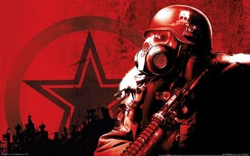 metro 2033, a4games, thq, black & red