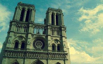 париж, собор парижской богоматери, нотр-дам де пари