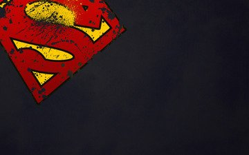 логотип, символ, супермен, супергерой
