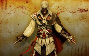 warrior, assasin's creed 2, with knives