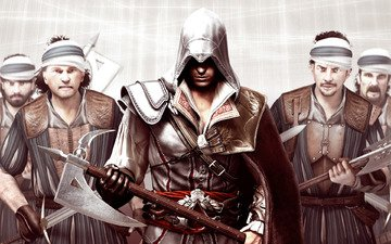 ассасин, assassin's creed, ax