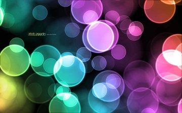 пузыри, цветные, дезайн