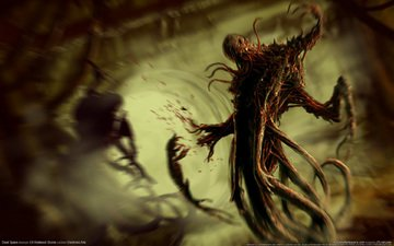 blood, horror, dead space, thing, mucus