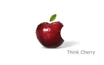 логотип, мак, яблоко, листик, телефон, компьютер, ноутбук, эмблема, гаджет, эппл