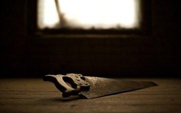 свет, ручка, макро фото, день, пол, креатив, зубы, окно, железо, инструменты, сталь, пила, пилка, зубцы, острый, bucksaw, handsaw