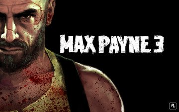 blood, black, man, max payne