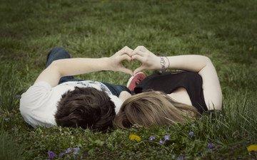 настроение, любовь, пара, нежность, влюбленная