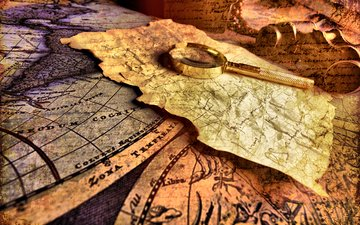 карты, рабочий стол, морские обои