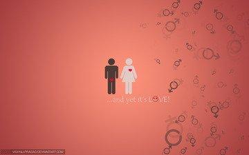 девушка, настроение, любовь, мужчина, он и она