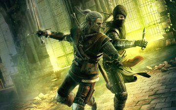 the witcher, the witcher 2 assassins of kings, the witcher assassins of kings, asasin, geralt