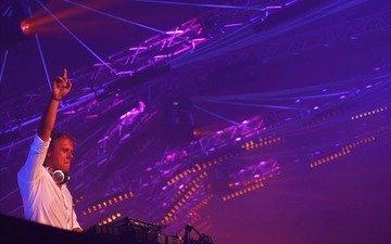 прожектора, транс, армин ван бюрен