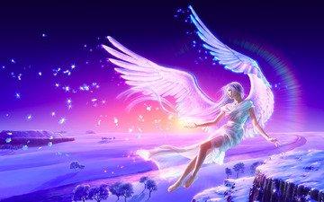 ангел, yutaka kagaya, crystalheart