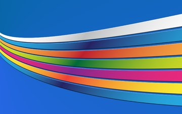 abstraction, line, color, strips, rainbow, abstract wallpapers, colourful backgrounds