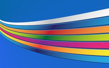 абстракция, линии, цвета, полоски, радуга, abstract wallpapers, colourful backgrounds