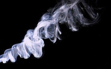дым, черный