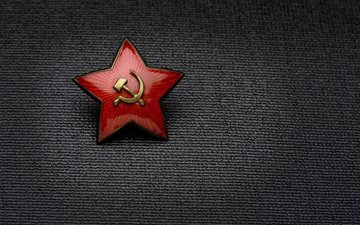 background, star, victory day, the hammer and sickle, may 9