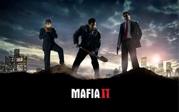 game, mafia 2, wallpers