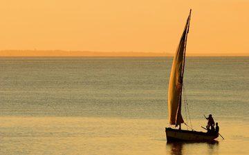 вода, фото, море, люди, пейзажи, лодки, океан, ветер, паруса