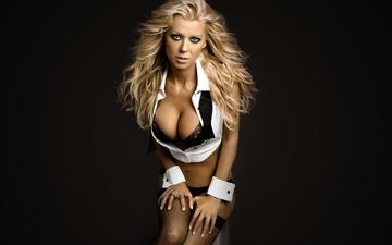 look, mesh, chest, stockings, hair, tara reid, actress