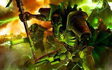 warhammer 40000, некроны, necron